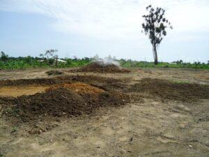 02 Die Liberianer lernen wie man ausebnen kann...